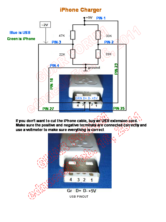 ipod to usb wiring color schematic  wiring  wiring