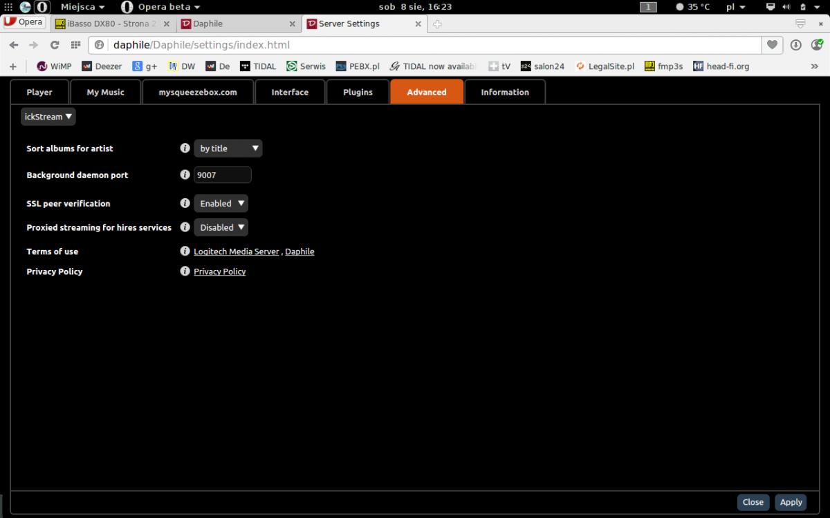 Daphile - dystrybucja linux pod hi-fi PC Audio - strona 14 - Audio z