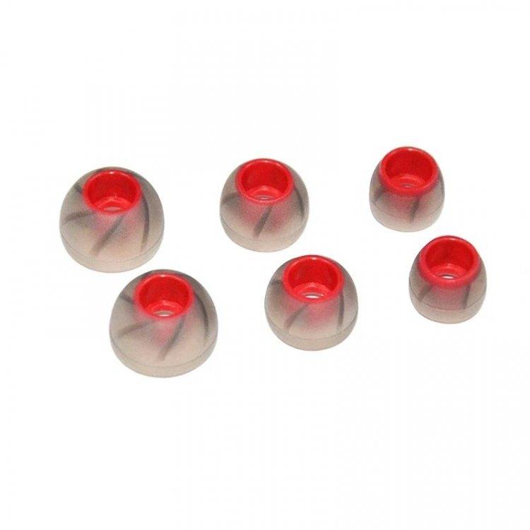 NICEHCK Red KZ spiralne silikonowe.jpg